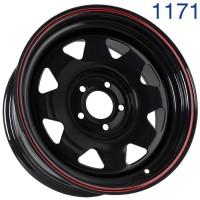 Стальной диск Grizzly SW01 16x7/5x114.3 ET0 DIA73.1