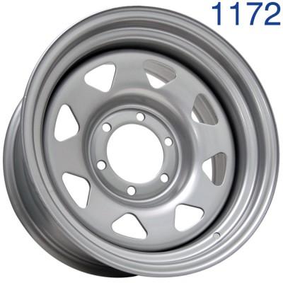Стальной диск Grizzly SW01 16x8/6x139.7 ET-20 DIA110.1  арт. 1172