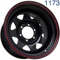 Стальной диск Grizzly SW01 16x9/6x139.7 ET-30 DIA110.1